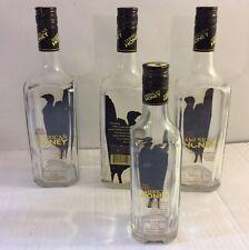 4 Wild Turkey American Honey Empty Whiskey Bottles Wedding Party Decor Crafts