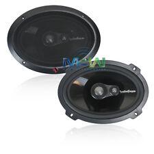 "*NEW* ROCKFORD FOSGATE T1693 POWER 6"" x 9"" 3-WAY FULL RANGE CAR AUDIO SPEAKERS"