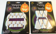Pumpkin Teeth Decorating Kit Vampire Teeth Funny Teeth Lot 2