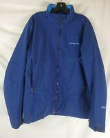 Patagonia Men's XL Blue Solar Jacket Insulated Primaloft Windstopper Long Sleeve