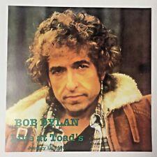 "BOB DYLAN ""LIVE AT TOAD'S"" JANUARY 12,1990 PRISTINE ALBUM SLICK (12x12) 3237"