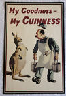 """Vintage My Goodness My Guinness Poster Guinness Museum Dublin Beer 20"""" x 30"""""""