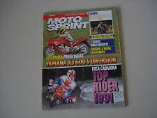 MOTOSPRINT 50/1991 PROVA TEST MOTO YAMAHA XJ 600 S DIVERSION