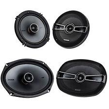 """New Pair Of Kicker 41Ksc694 6x9"""" Car Stereo Speaker With 2 41Ksc654 6.5"""" Speaker"""