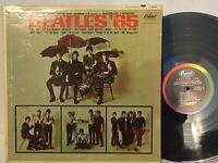 Beatles '65 VG+ MONO ORIG 1ST PRESS RAINBOW CAPITOL DEEP GROOVE