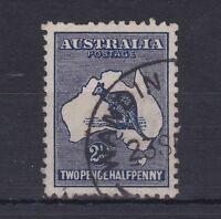 K361) Australia 1919 2.5d Intense Indigo 3rd wmk. Kangaroo