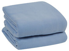 EXTREMELY ULTRA WARM SOFT FLEECE PLUSH THROW BLANKET COVER BED COUCH, 4 SIZES