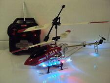LARGE ALLOY METAL FRAME BR V MAX 3.5 CHANNEL RC HELICOPTER GYRO LED LIGHTS