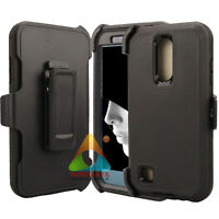 For LG K30 Harmony 2 Case (Clip fits Otterbox Defender) Holster Screen Protector