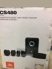 JBL CS480 Complete Music and Home Theater Speaker System Cinema