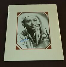 """ Douglas Fairbanks Jr ""/ Custom Matted Autographed Photo."