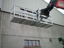 Telehandler Forklift Access Platform Telescopic Safety Cage Manlift Basket