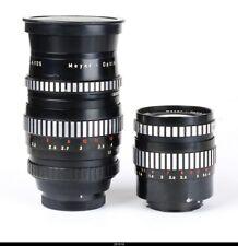 3x Lens Meyer Lydith 3.5/30mm Orestor 2.8/100mm 2.8/135mm Zebra Mint for Exakta