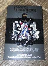 NEW Universal Studios Hasbro Transformers Optimus Prime Grafitti Trading Pin