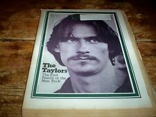 ROLLING STONE magazine Feb 1971 JAMES TAYLOR cover w/ CARLY SIMON, THE BEATLES