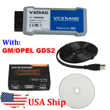 US Ship VXDIAG VCX NANO OBD2 Diagnostic Tool for G-M/OPEL With Tech2win and GDS2