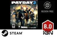 PAYDAY 2 [PC] Steam Download Key - FAST DELIVERY