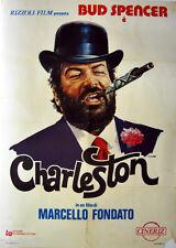 manifesto 2F originale CHARLESTON Bud Spencer Marcello Fondato 1977