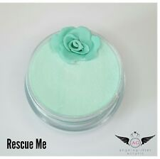 acrylic coloured powder RESCUE ME 10 g pots compatible with any monomer