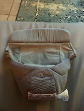Ergo Baby Carrier Newborn Insert Grey Euc