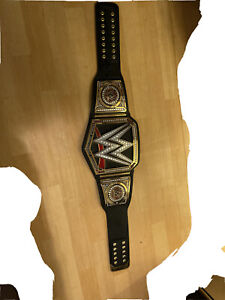 wwe championship belt adult! Plastic and leather