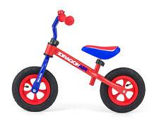 """Laufrad Kinderlaufrad ROT-BLAU 10"""" Lernrad Fahrrad Kinderrad Lernlaufrad Kinder"""