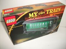 Lego Set #10015 Passenger Wagon Brand NEW Factory Sealed Box RARE DISCONTINUED