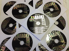 35 Disc SUPER ROCK KARAOKE CDG Set 600 Sngs SEGER The Who JOURNEY Ozzy