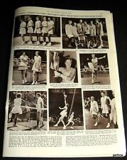 Tennis 1958 Althea Gibson & Scarce British Wightman Cup Victory Pictorial