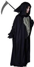 Sensenmann Kostüm Gr.146/158 inklusive Sense 0,57 cm Halloween Schrecken Geister