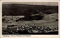 Fichtelgebirge Bayern s/w AK 1939 gelaufen Blick vom Ochsenkopf auf Bischofsgrün