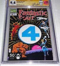 "Fantastic Four #358 CGC SS Signature Autograph STAN LEE ""Death"" Lyja 1st Die-Cut"