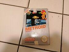Nintendo NES Spiel Metroid , Original Verpackt, Top Zustand