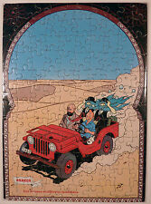 Tintin Puzzle Andros L'Or Noir TBE