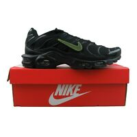Nike Air Max Plus Mens Running Shoes Black Size 11 Removable Swooshes CJ9696-001