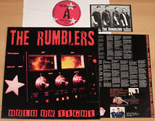 THE RUMBLERS - Hold On Tight (KNOCK OUT 2003 + OIS +FAN-POSTCARD / LP NEAR MINT)