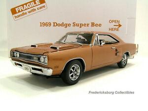 DANBURY MINT 1969 DODGE SUPER BEE - COPPER POLY - MINT IN BOX WITH PAPERS