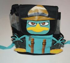 Disney Parks Phineas and Ferb Agent P Small Backpack Bag Tote Perry the Platypus
