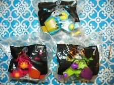 NEW Set of 3 McDonald's Happy Meal 2001 Robo Chi Pets POO-CHI Toy POOCHI -#X8