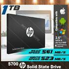 HP S700 1TB SSD SATA III 3D TLC 2.5 Internal Solid State Hard Drive Black