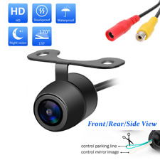 CAR BACK UP PARKING BULLET CAMERA REAR VIEW WIDE ANGLE NIGHT VISION GUIDE LINES