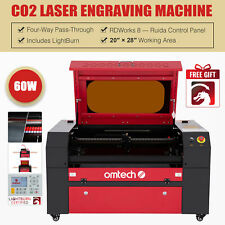 Omtech 60w 20x28in Co2 Laser Engraving Cutting Etching Machine With Lightburn