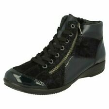 Ladies Rieker Casual Lace Up Ankle Boots 'L3633'