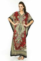 Women Long Kaftan dress Hippy Boho Maxi, Plus Size Caftan Tunic Dress Night Gown