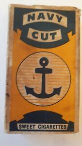 Reduced! Rare, vintage Navy Cut sweet cigarette packet. Kane Products Ltd London