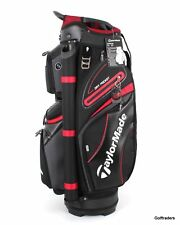TaylorMade Tm19 Premium Cart Bag Black/charcoal/red