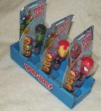 Set of 3 NEW OOP Marvel Avengers Lolli Pop Ups! Spiderman HULK Iron Man Candy J