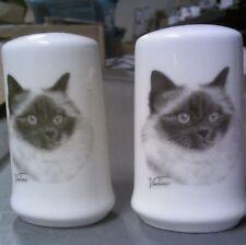 Small Salt and Pepper Shakers - Birman Cat
