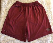 Men's Nike Team Fit Dry Arizona Diamondbacks Athletic Shorts Size Medium Red