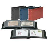 Lindner Album für 106  Briefe, Fotos, FDC bis 245x132 mm rot   firmo 812L-rot